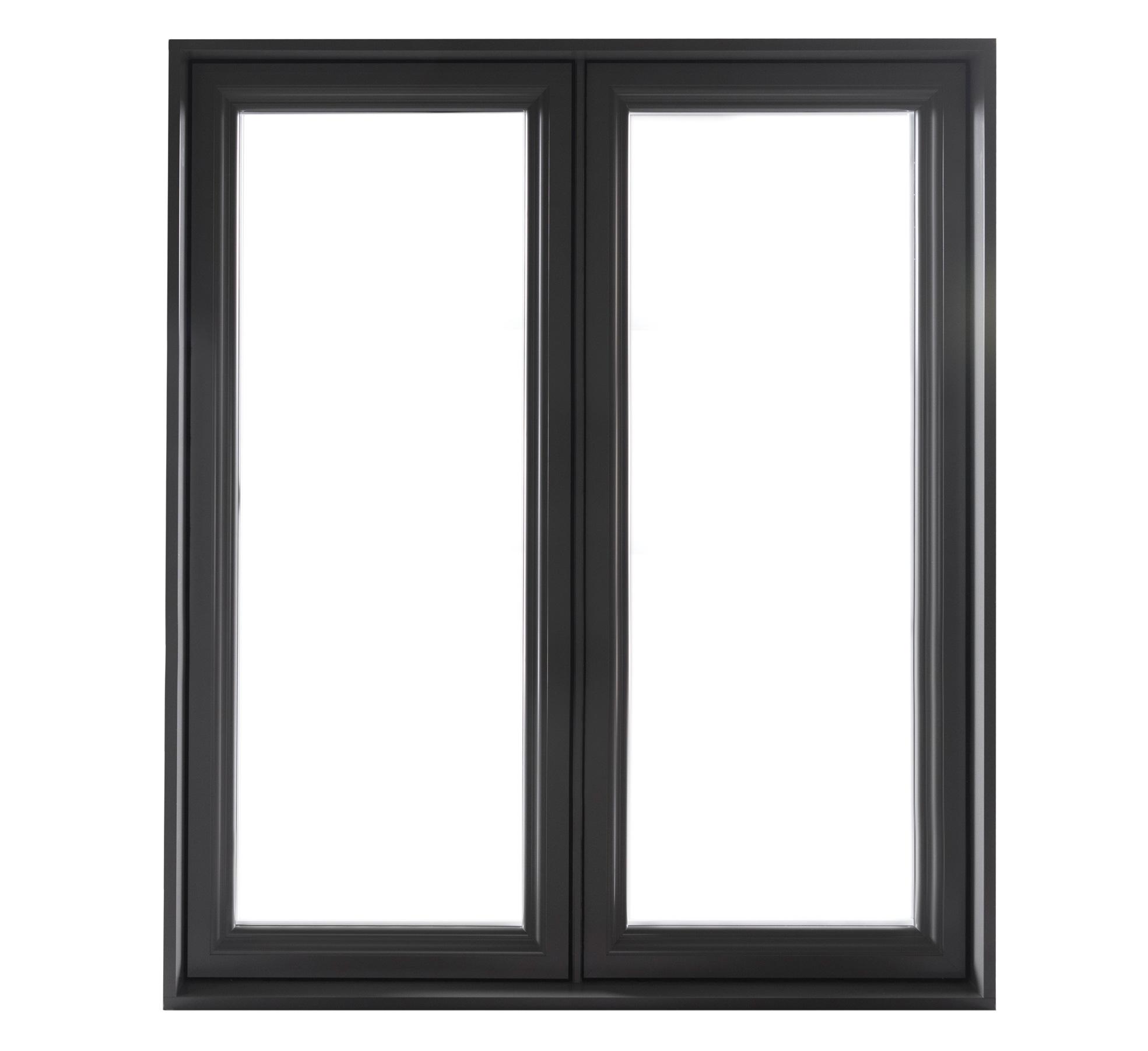 Fenêtres à Battant Hybride En Aluminium Portes Et Fenêtres Mtr
